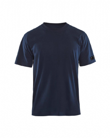 Blaklader 3482 Flame Retardant T-Shirt (Navy Blue)